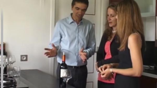 Quantité de vin à servir Courrèges Wines